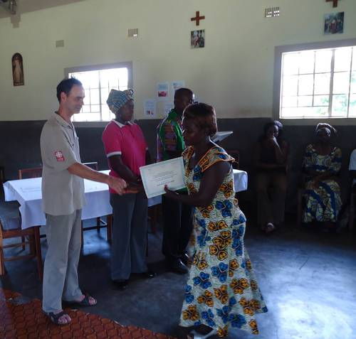 Adult literacy courses in Zambia continue